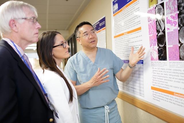 Dr. Su, Dr. Wardenburg and Dr. Stringer