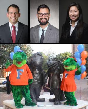2018 UF Urology welcomes Kenan Ashouri, Nikhil Batra and Hiroko Miyagi!