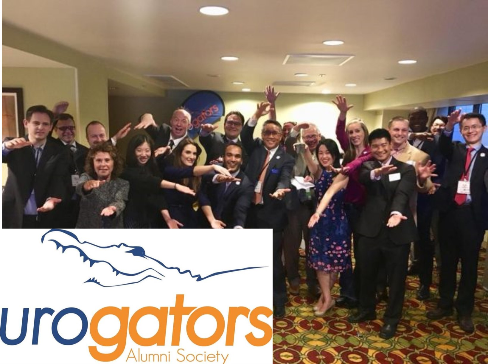 UF Urology UroGators | Where Are You Now?  |  Click below to let us know!
