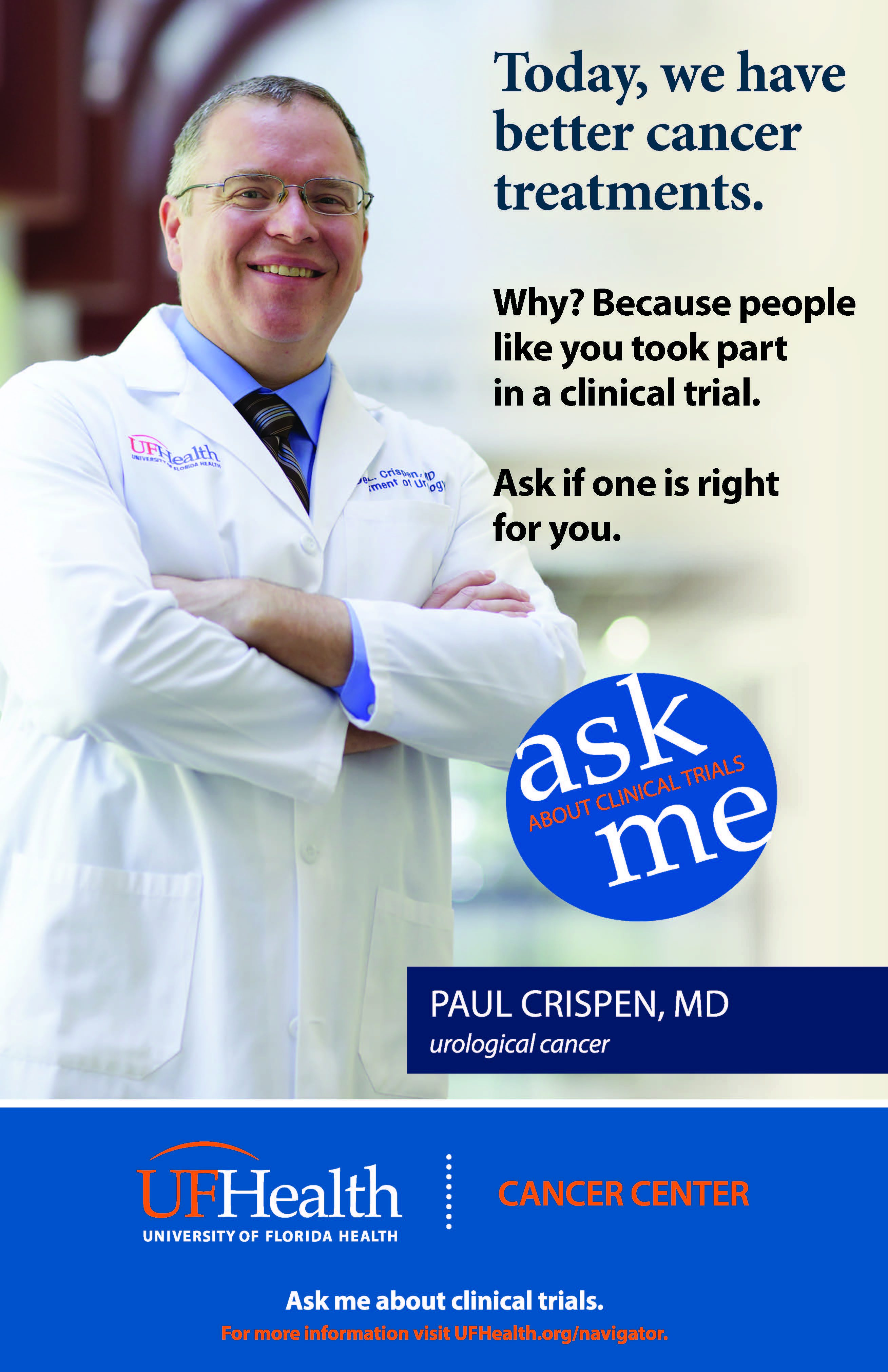 Ask Me About Clinical Trials!
